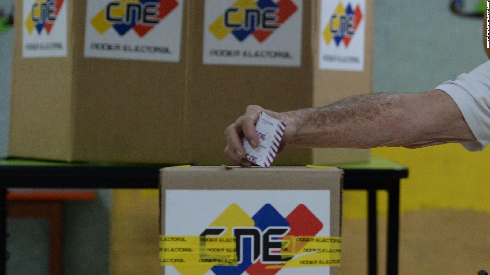 CNE de Venezuela anuncia que «megaelecciones» serán el 21 de noviembre