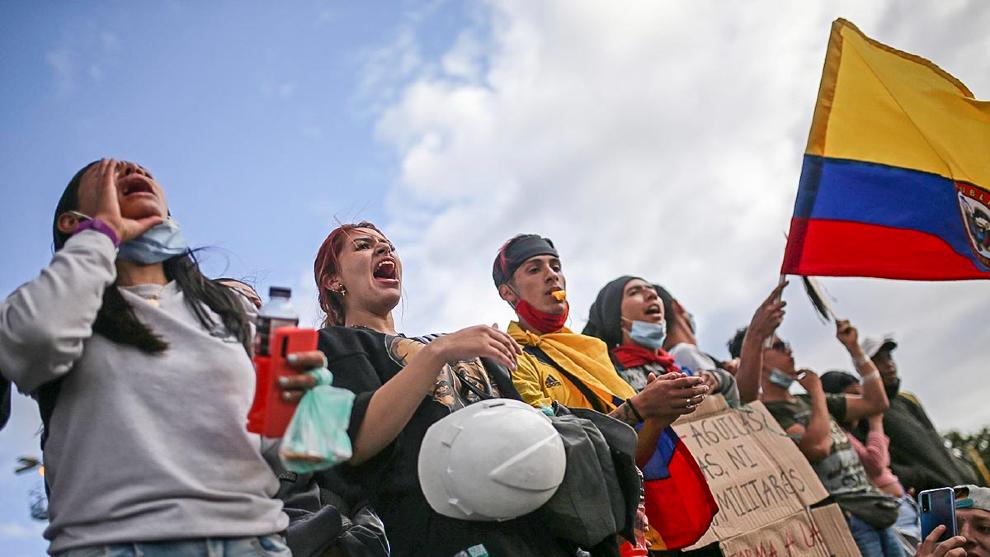 Colombia: reportan tres muertos más en Cali durante otra jornada de protestas