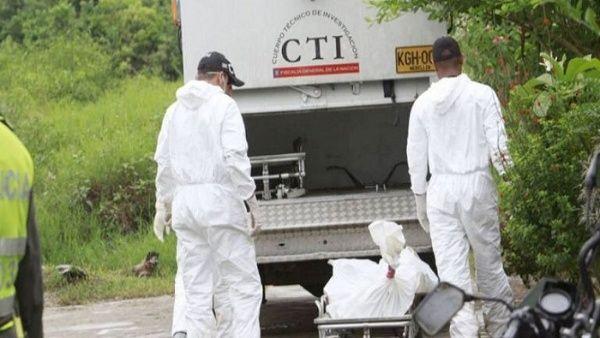 colombia masacre muertos