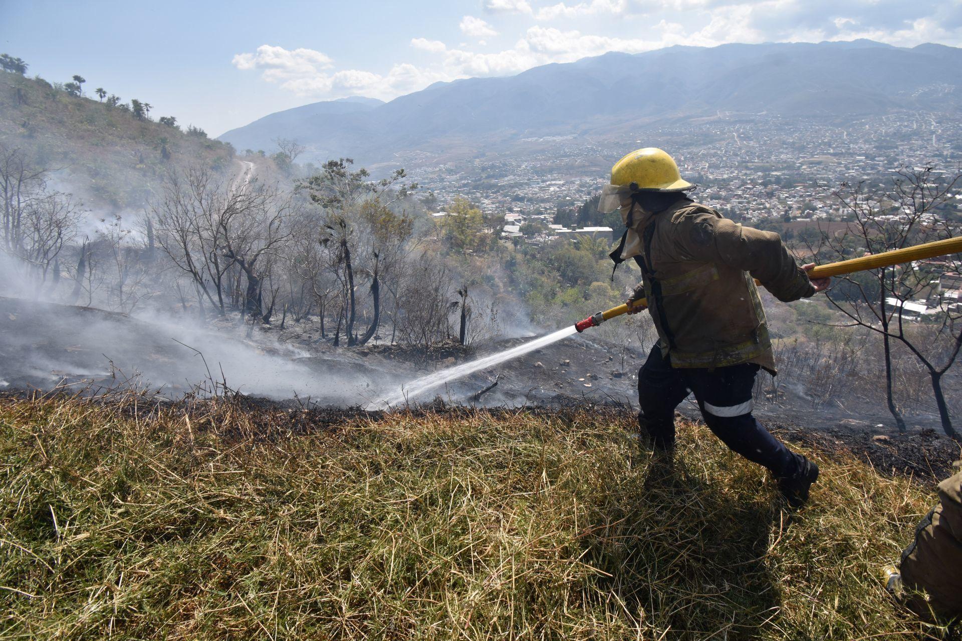 Comisión Nacional Forestal honra a combatientes de incendios