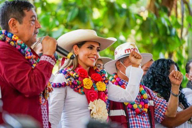 Inicia campaña candidata de Morena a la gubernatura de Guerrero
