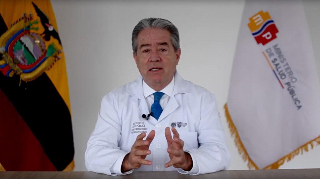 Asamblea de Ecuador censura a exministro de Salud por mal manejo de crisis del covid-19