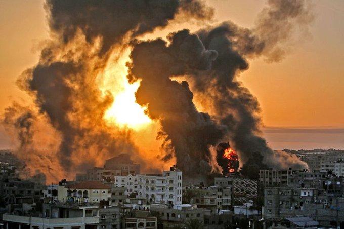 (Video) Gaza bajo ataques entre Israel y Hamás