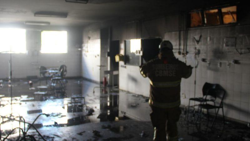 Se incendió hospital para pacientes con Covid-19 en Brasil: deja cuatro fallecidos