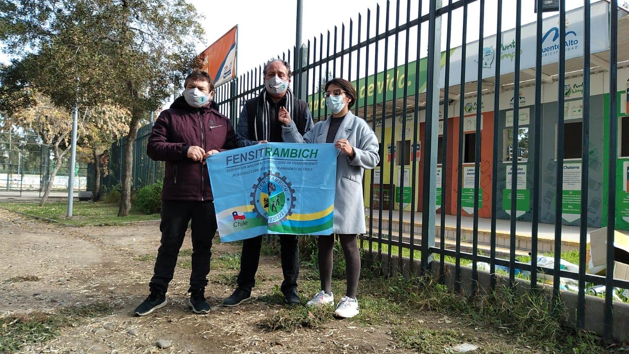 Karina Oliva se reúne con recolectores de basura y proponen trabajo en conjunto para mejorar condiciones laborales