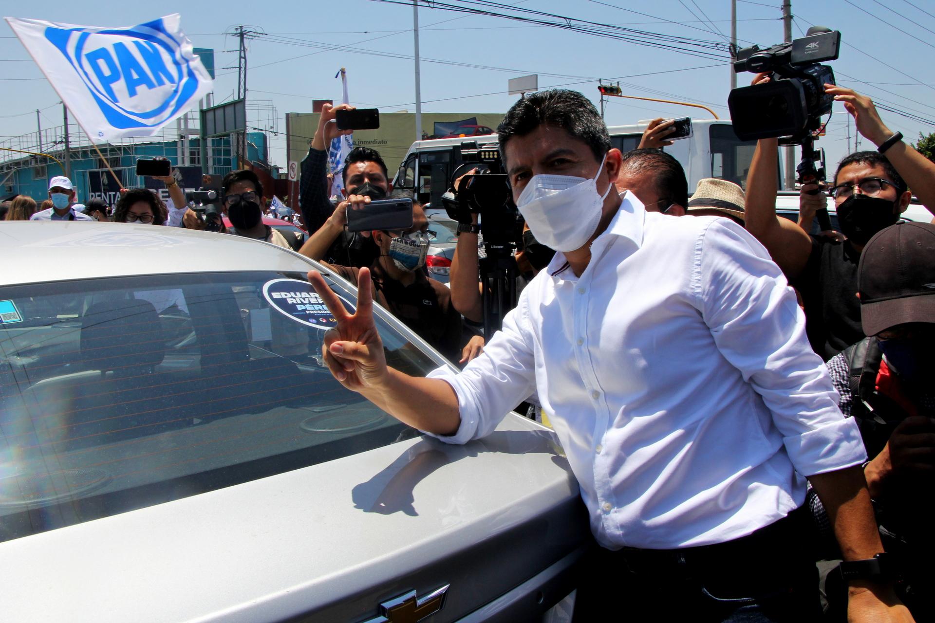 Respaldo nacional de Va por México para Rivera Pérez