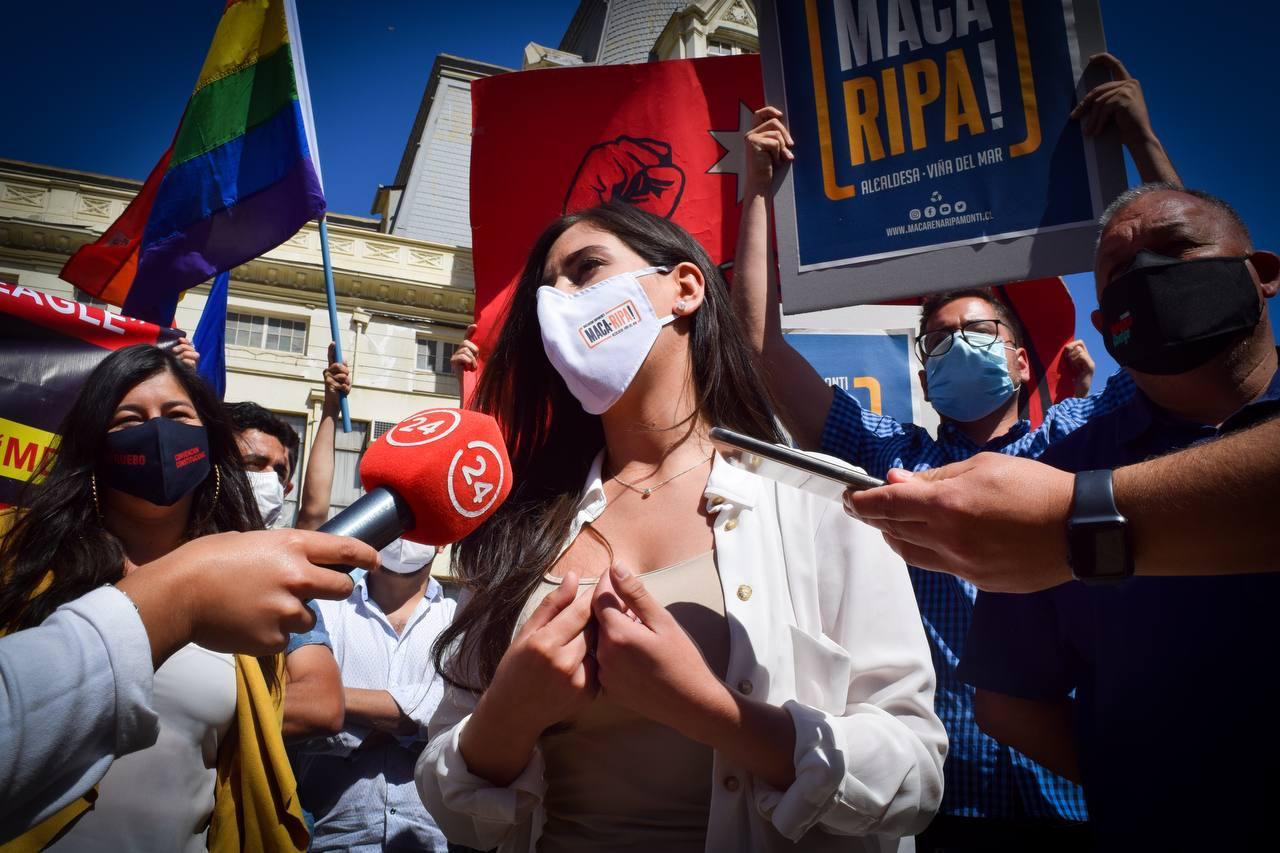 """«En Viña del Mar hay un problema de hambre"""": Alcaldesa electa, Macarena Ripamonti, priorizará auditorías, atención primaria de salud y comedores solidarios"""