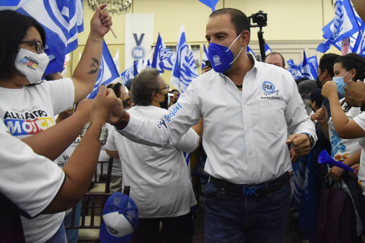 Marko Cortés del PAN, el dirigente político mejor pagado: gana 156 mil pesos, sueldo superior al de AMLO