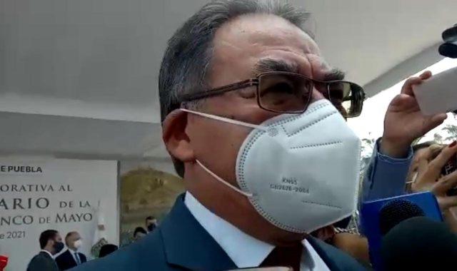 El titular de la SEP en Puebla, Melitón Lozano