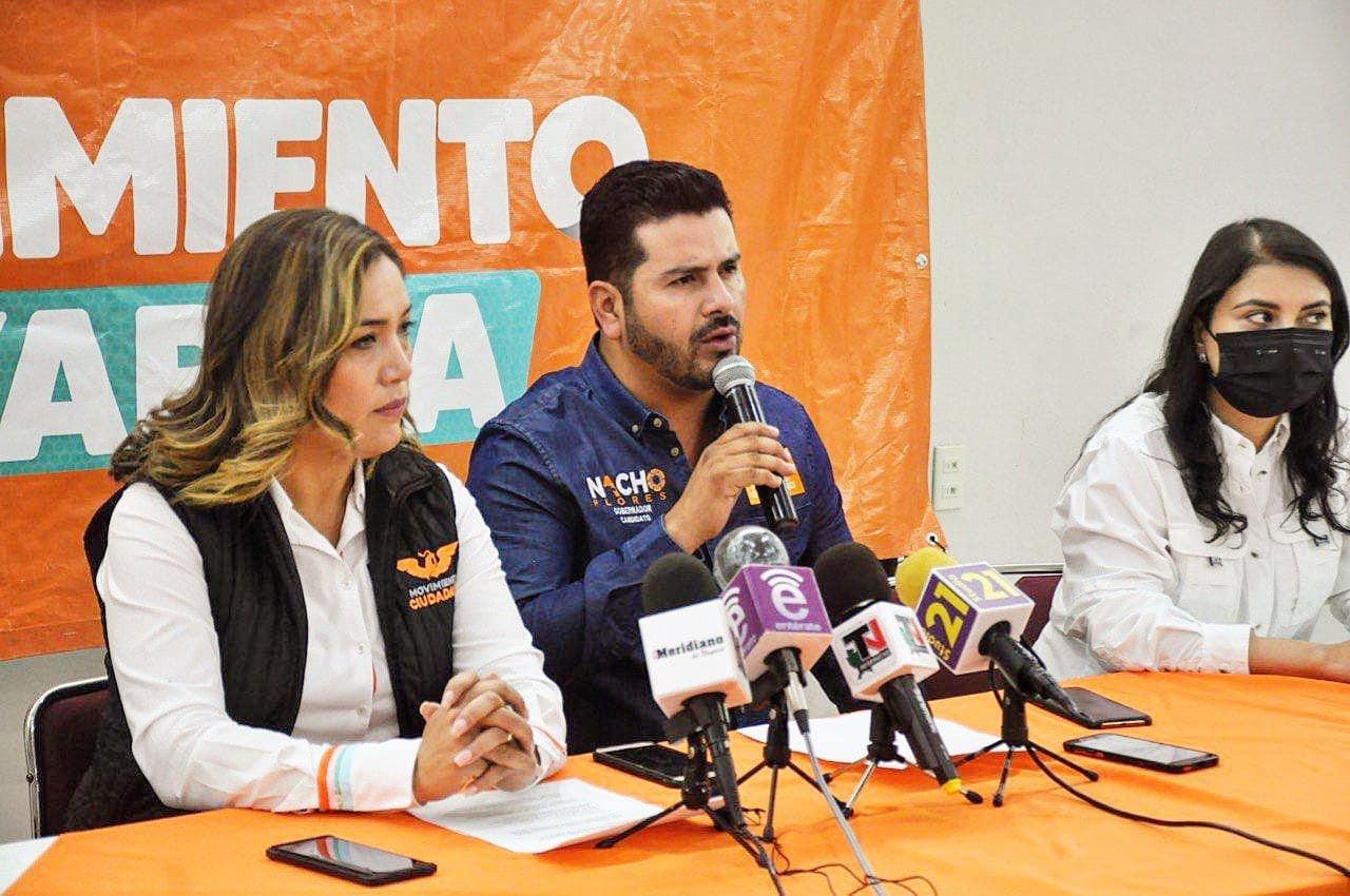 Secuestran a coordinador de campaña nayarita de Movimiento Ciudadano