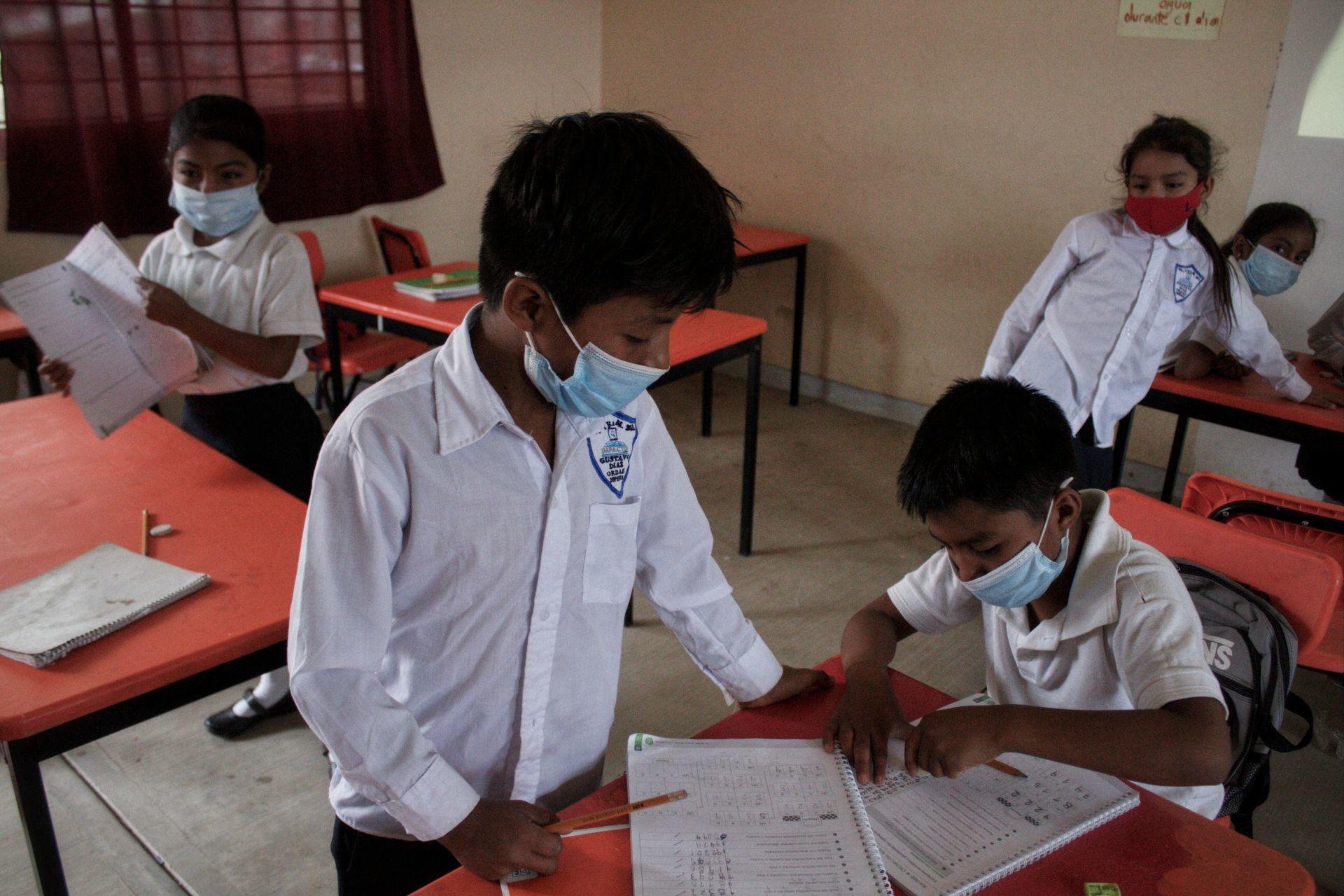Irreversible, clases presenciales en pico pandémico