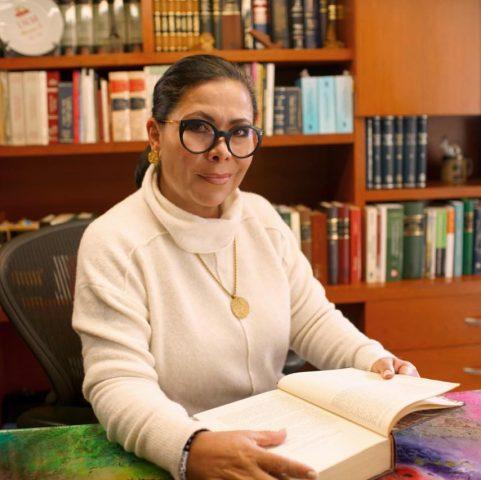 La aspirante a candidata independiente, Norma Romero Cortés