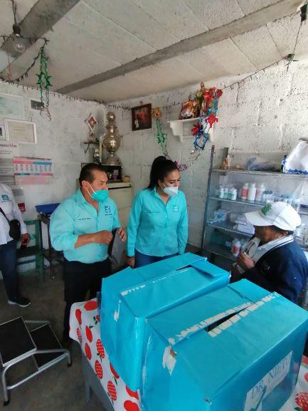 Evelyn Huerta, del Panal, oirá propuestas de la gente