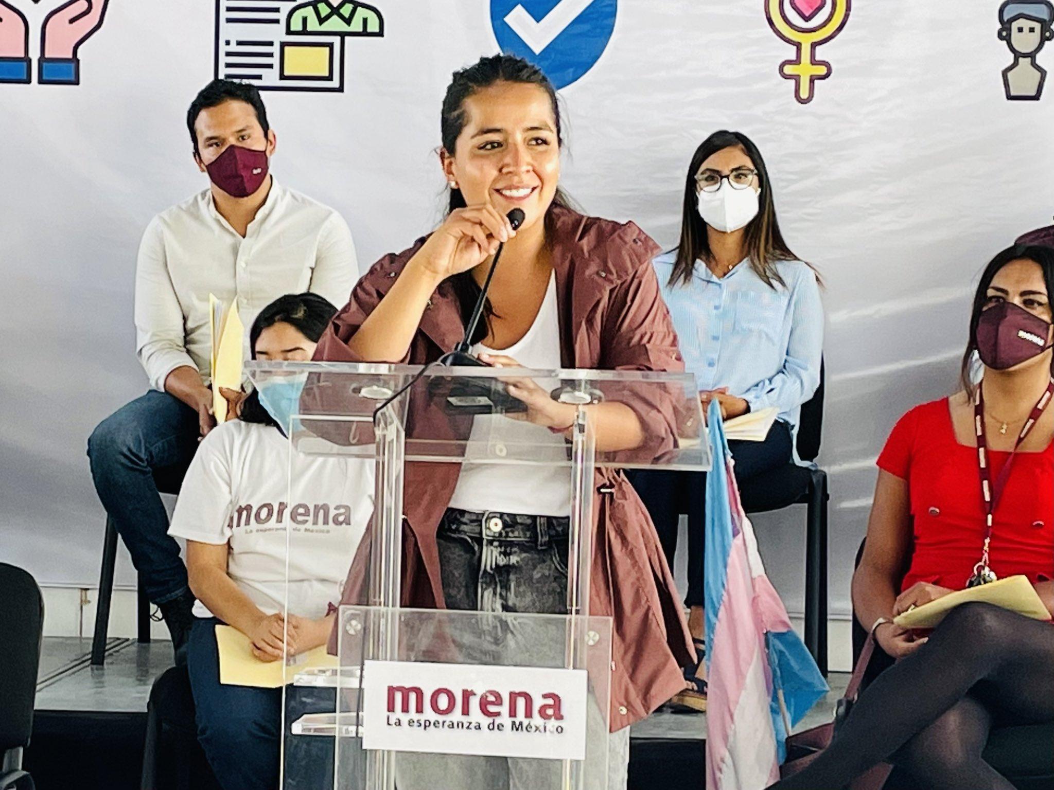 Paty Ortiz, candidata a la alcaldía de Magdalena Contreras: «En esta elección se están jugando dos proyectos, el de los que destruyeron a este país y el de la transformación»