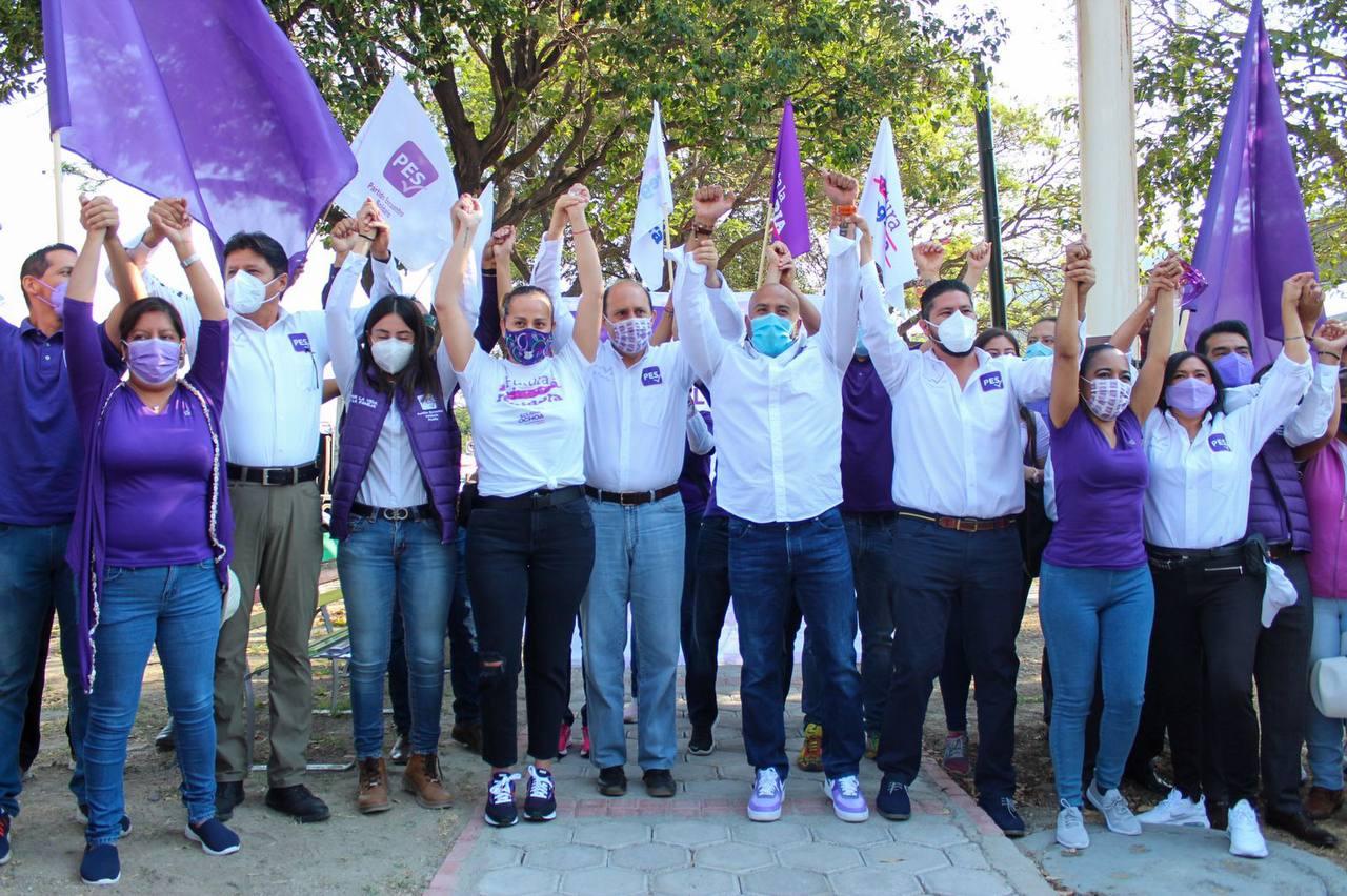 Candidato Alfredo Victoria, del PES, quiere sanar a Puebla