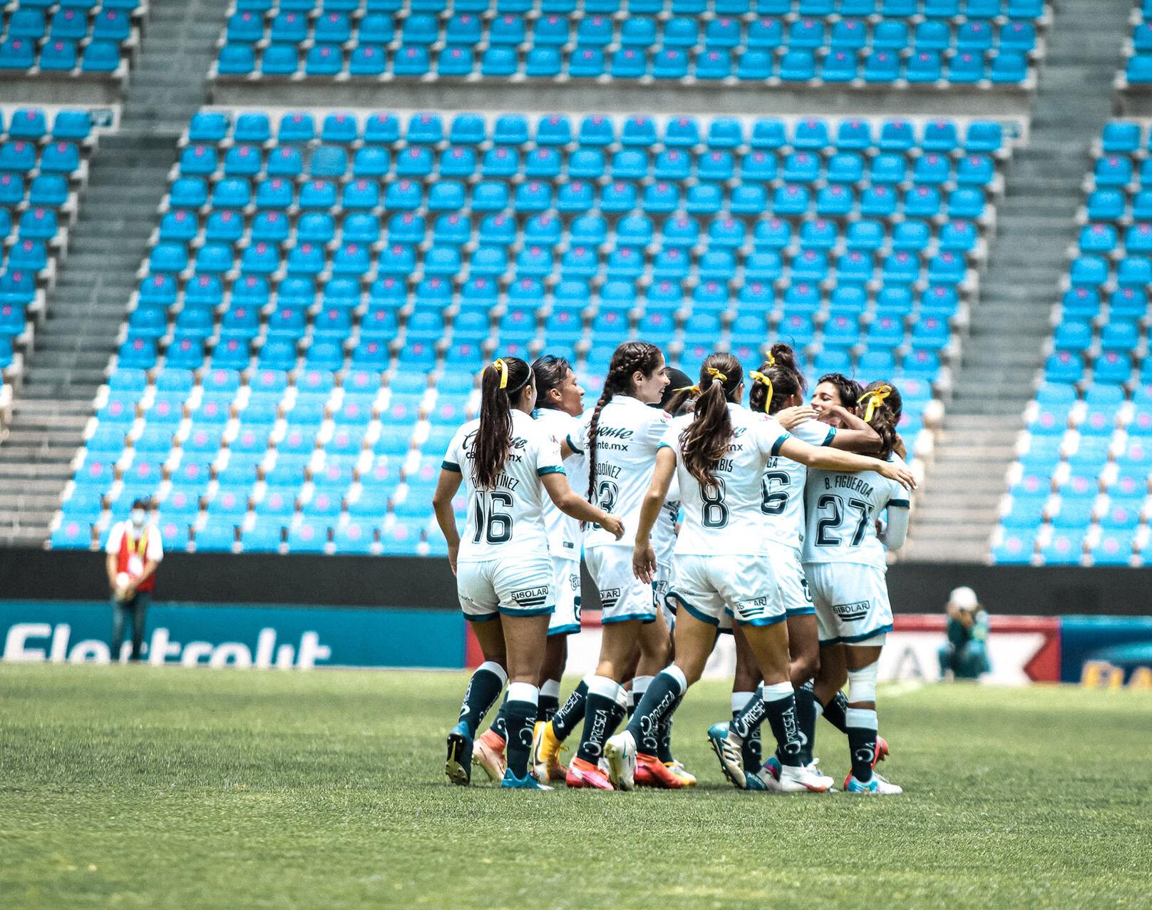 Puebla Femenil se despide del torneo con una alegría en casa frente al América