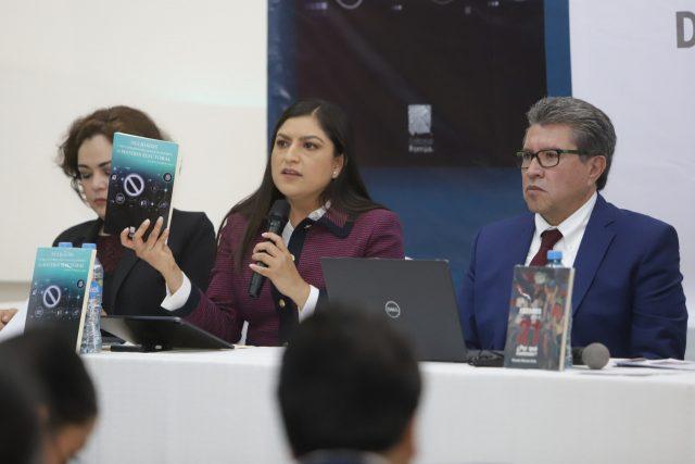 Claudia Rivera Vivanco y Ricardo Monreal