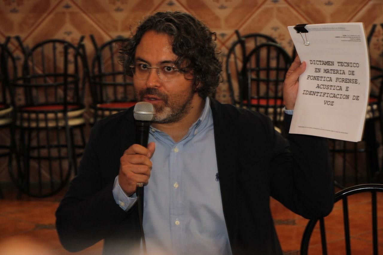Roberto Zatarain asegura que no es su voz la que se escucha en videos de supuestos moches para Claudia Rivera
