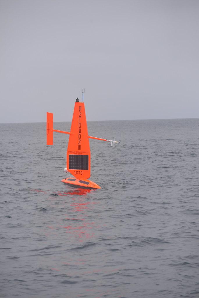 Barcos robóticos estudian el océano Ártico