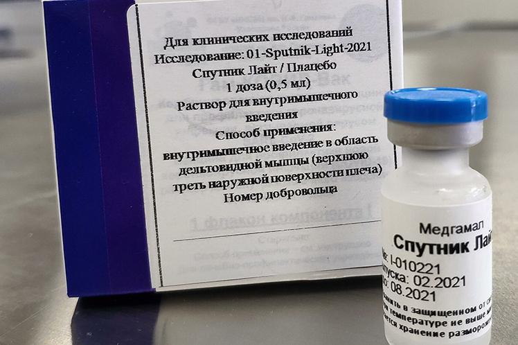 Palestina aprueba la vacuna monodosis rusa Sputnik Light