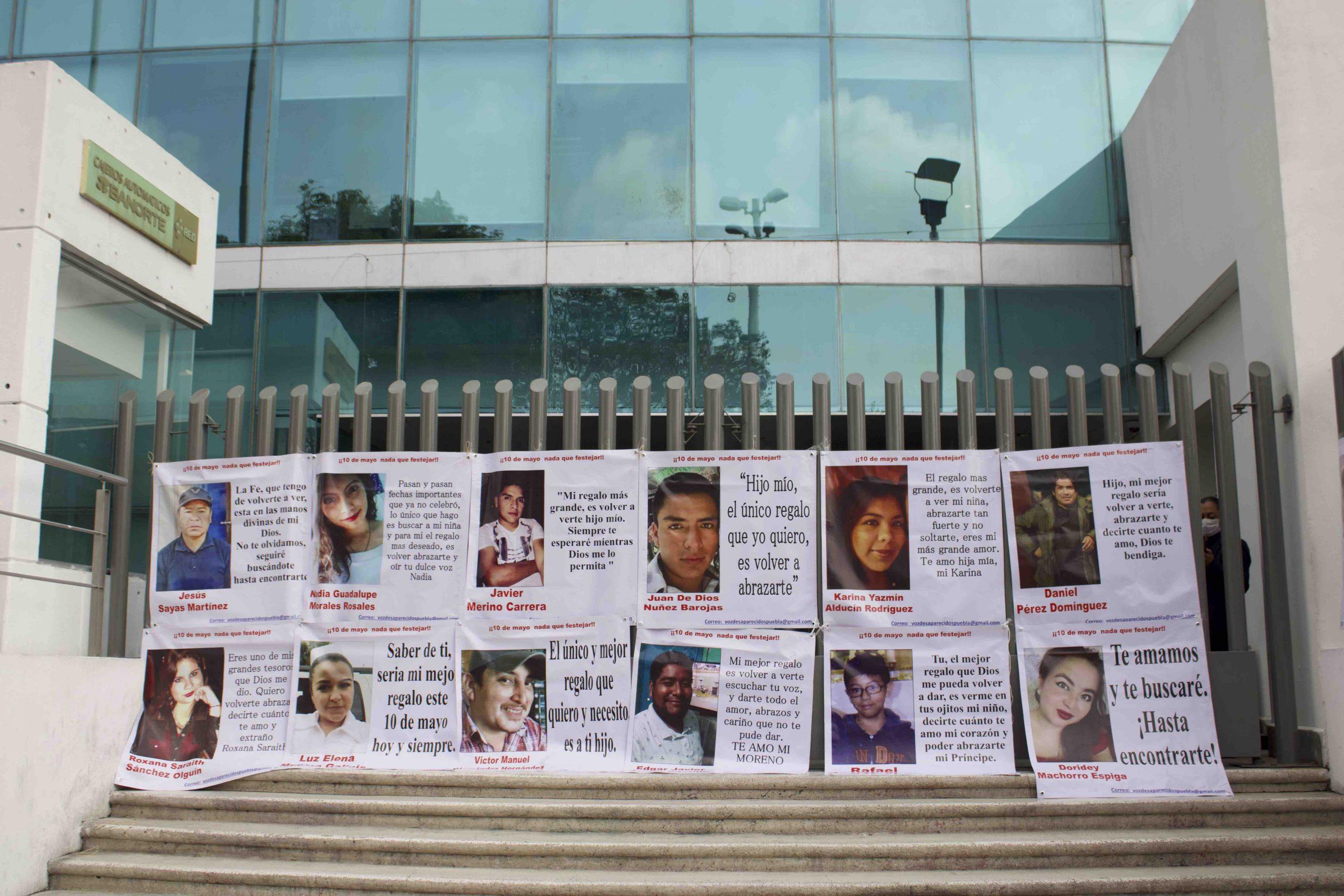 En periodo extraordinario, Congreso de Puebla pasará Ley de Desaparecidos