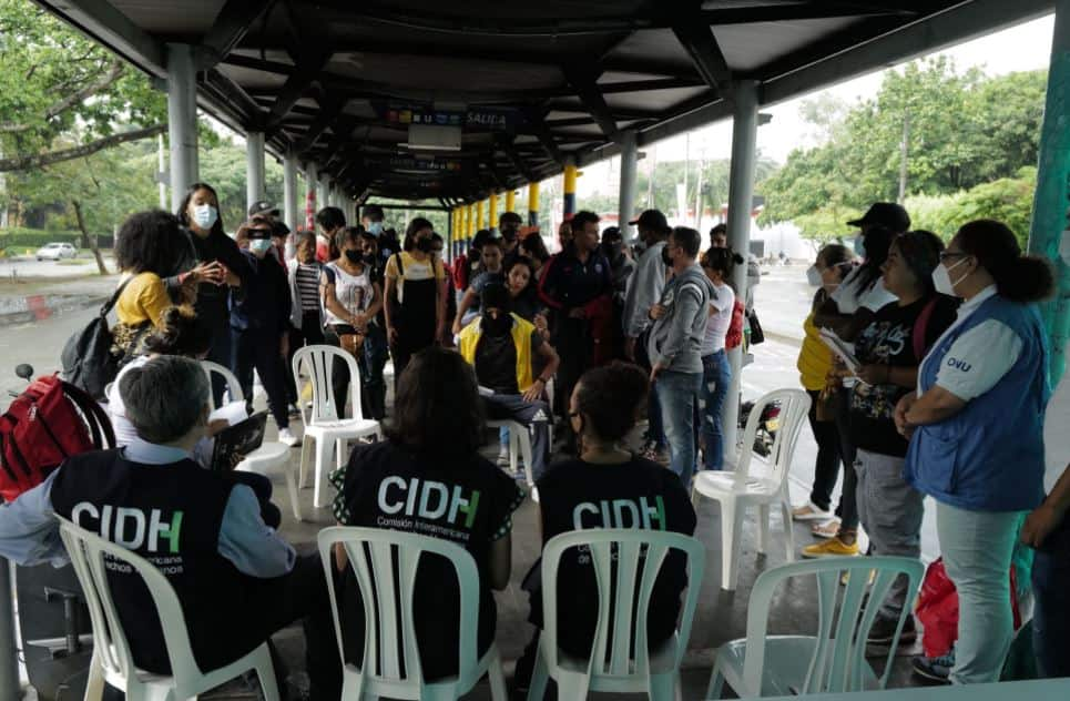 CIDH terminó visita a Colombia muy preocupada por violencia y represión