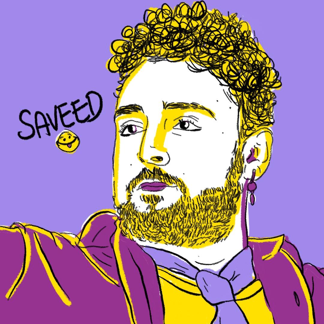 Saveed: dramaturgo, literato, ser de luz histriónico, gurú del Teatro