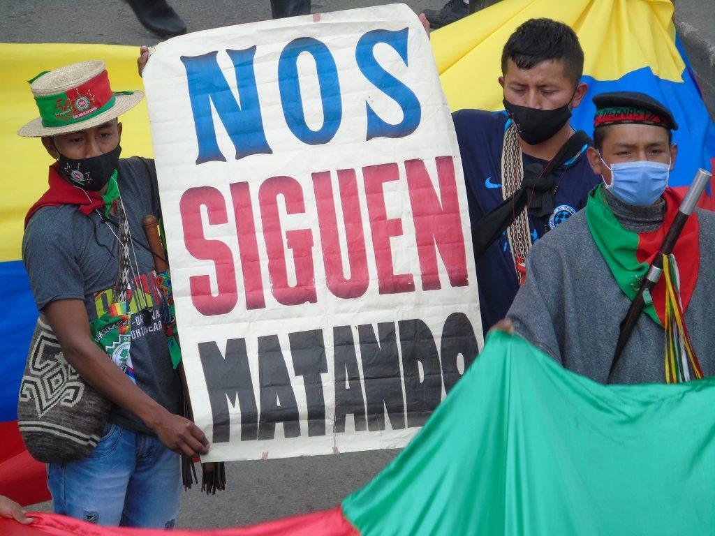 Colombie : Yordany Rosero, nouvelle victime de la brutalité policière du régime Duque