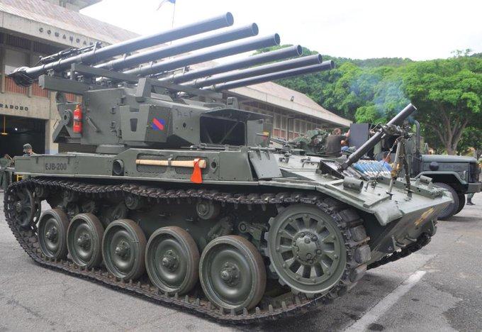 Conozca el tanque multicañón de Venezuela (+ video y fotos)