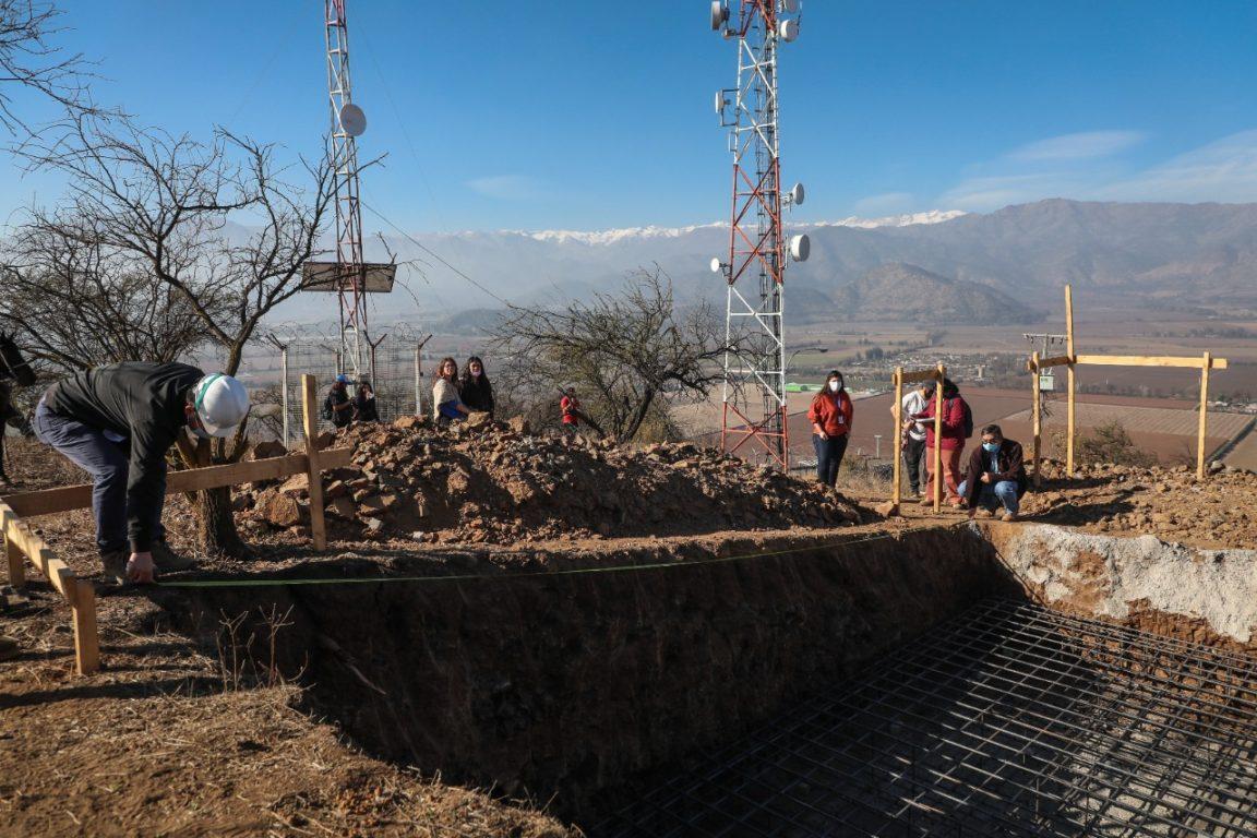 Destruyen Pucará Inca en Graneros para instalar antenas telefónicas