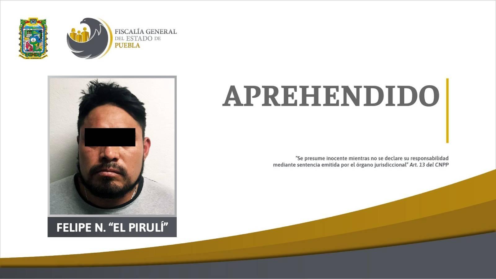 Capturan al «Pirulí», reo que se escapó del penal poblano de San Miguel