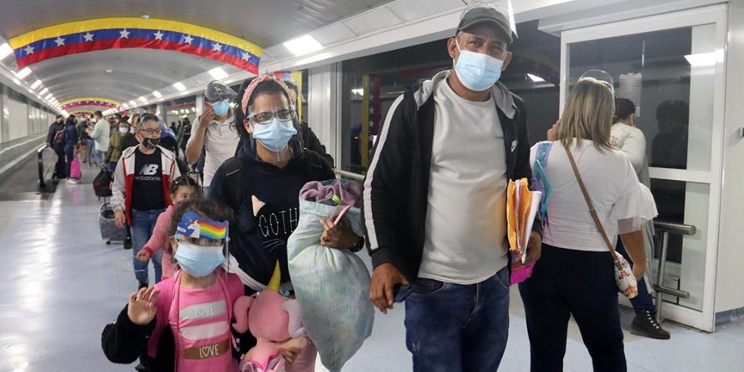 Más de 25 mil venezolanos han retornado a su país con el Plan Vuelta a la Patria