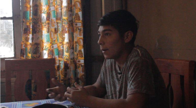 """Maicol Palacios, principal testigo del asesinato de Camilo Catrillanca: """"Mi padre está preso porque querían quebrarme"""""""