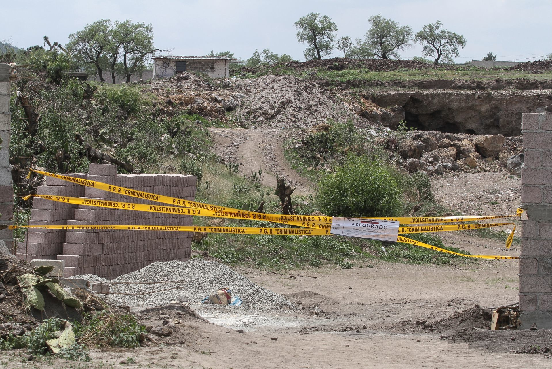 Obras irregulares en Teotihuacán