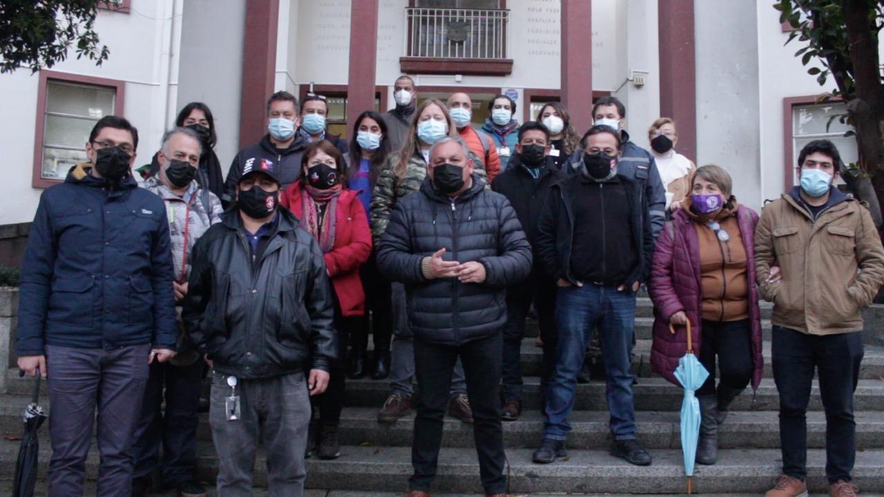 Valparaíso: Rodrigo Mundaca y dirigentes sindicales emplazaron al Gobierno por grave situación de los trabajadores de la Salud