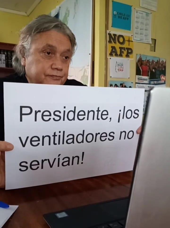 Navarro insistirá en caso «Correos Minsal» tras polémica por ventiladores de la CPC: «La seguridad nacional que invocaban eran los negocios con Juan Sutil»