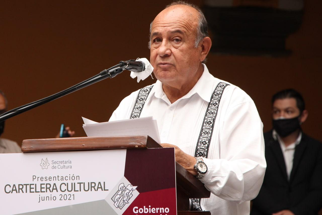 Sergio Vergara Berdejo, secretario de Cultura