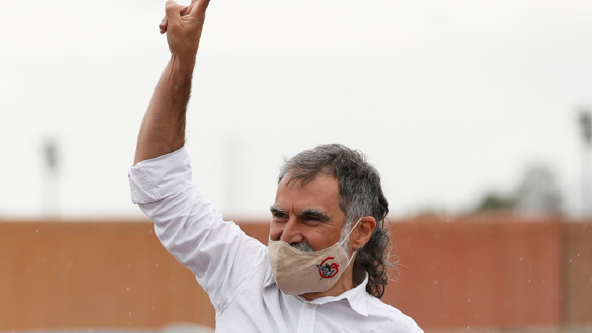 (Video) Excarcelados líderes independentistas catalanes