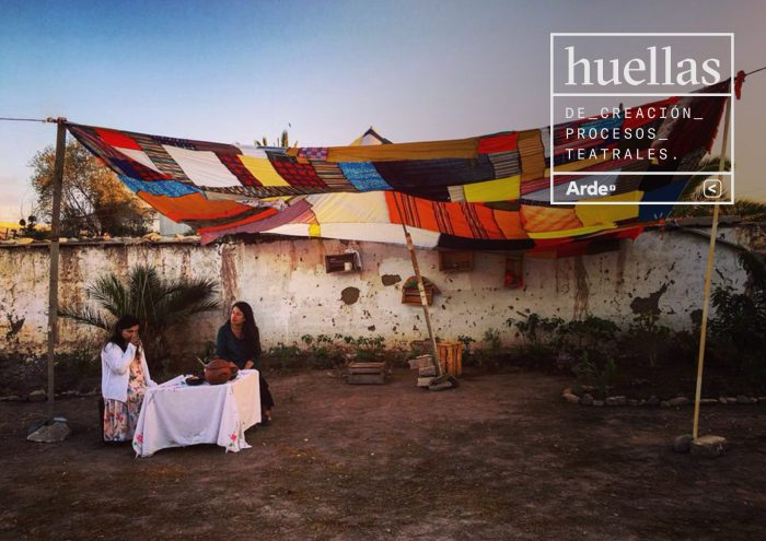"""""""Huellas de creación"""": Colectivo Arde lanza nuevas colecciones digitales de seis compañías teatrales chilenas"""