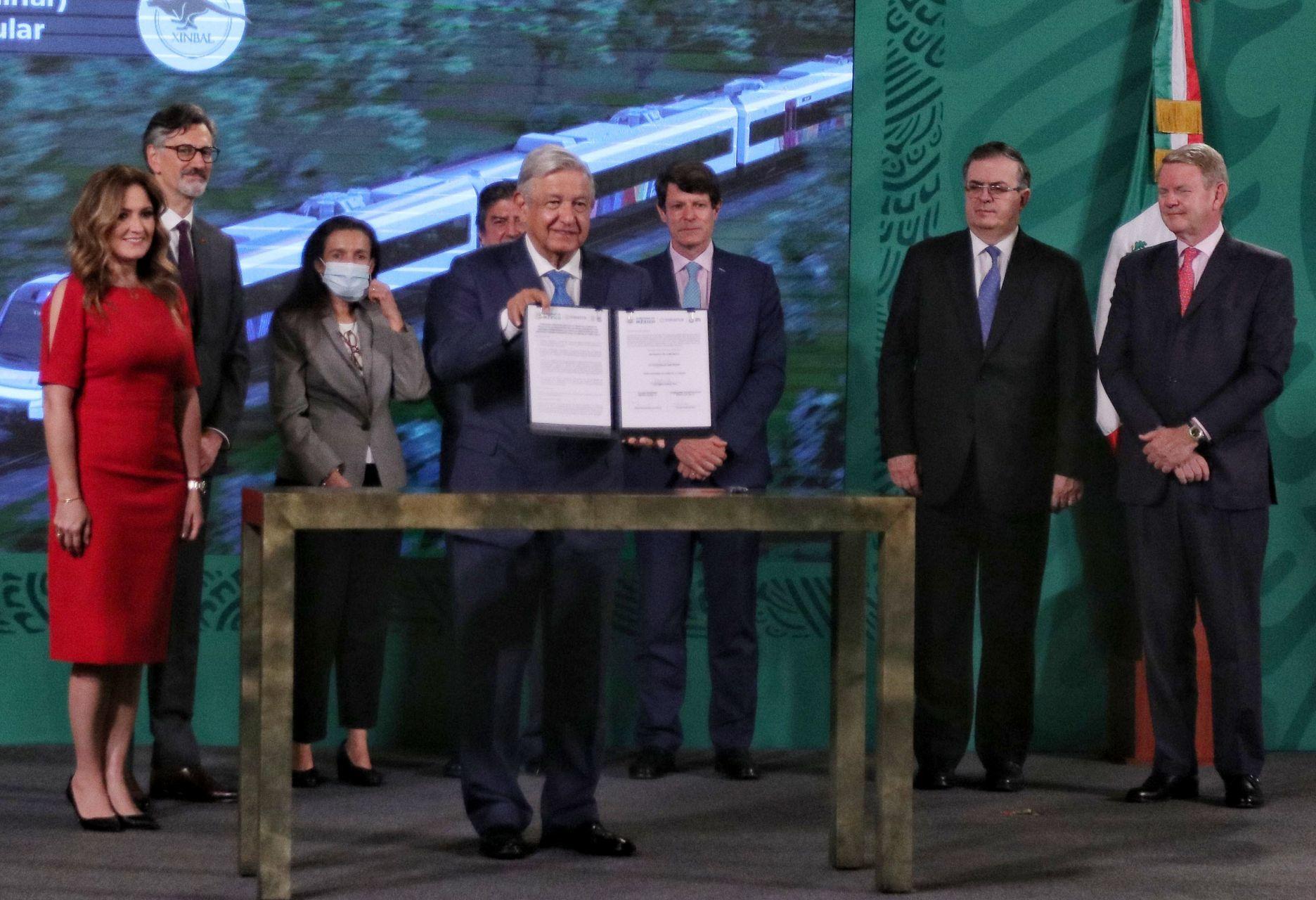 Pasaje módico en el Tren Maya, contempla López Obrador
