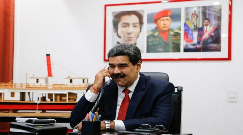 Maduro y su homólogo iraní acuerdan fortalecer cooperación entre ambos países
