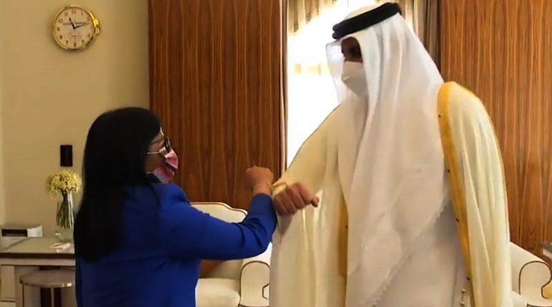Venezuela fortalece lazos de amistad con su Alteza el Emir Sheikh en Catar