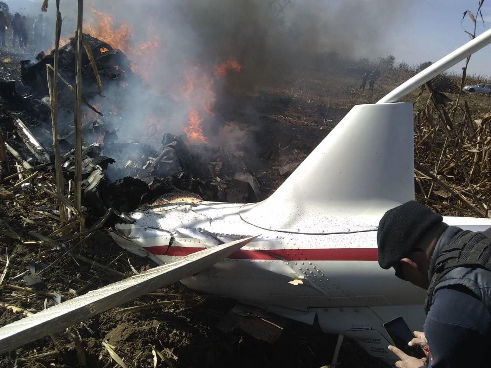 Al momento del accidente, estaba intoxicado con monóxido de carbono el piloto del helicóptero en el que fallecieron Rafael Moreno Valle y Martha Érika Alonso