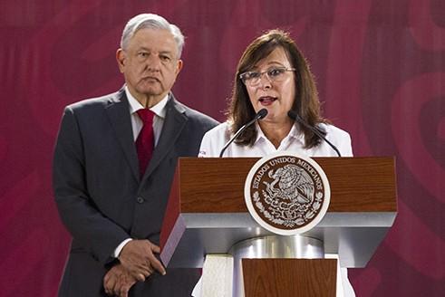 Solicita Tribunal a AMLO sancionar a Rocío Nahle por incumplir veda