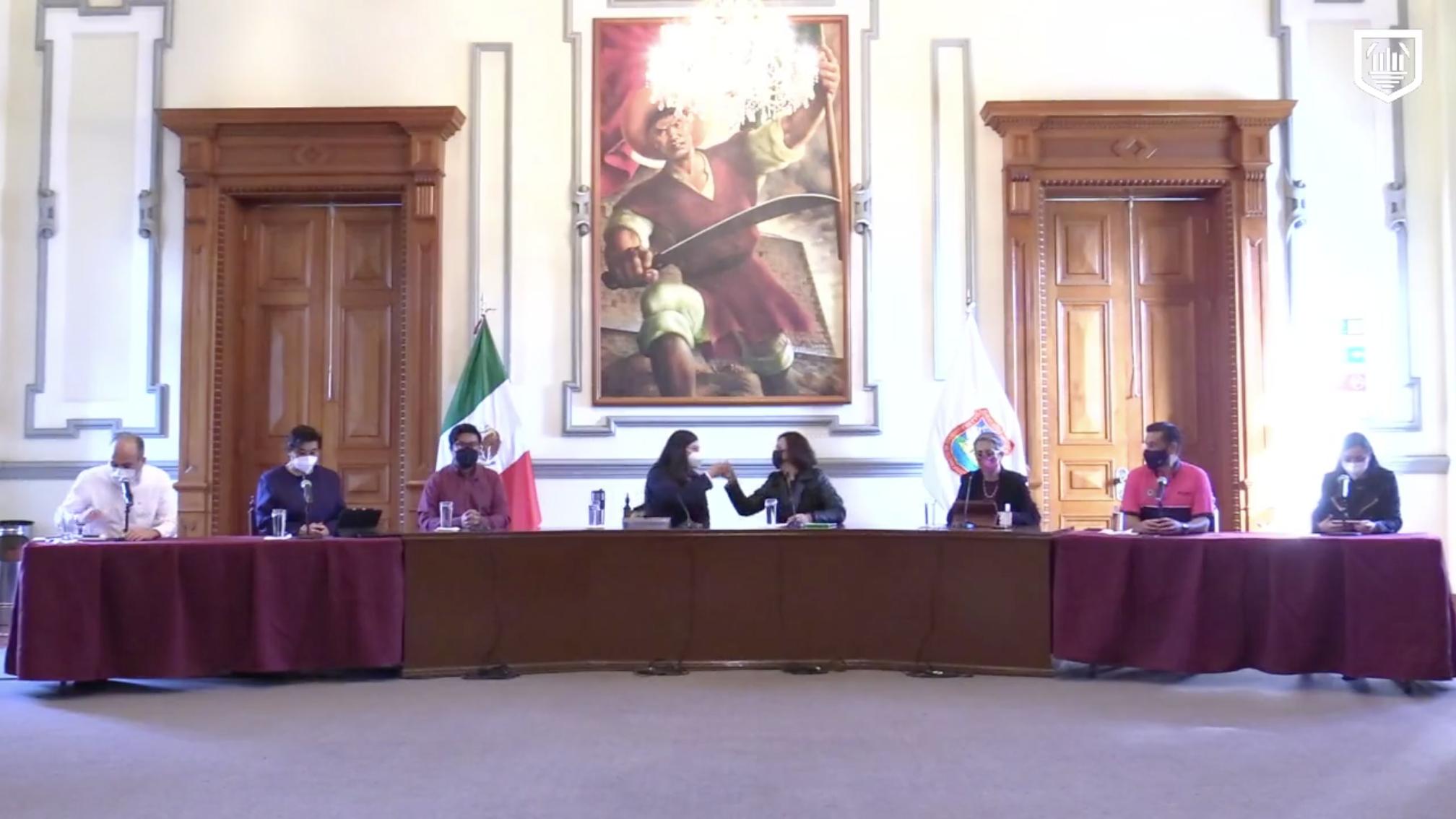 Rivera Vivanco vuelve de su licencia; informa Ayuntamiento sobre lo realizado en su ausencia