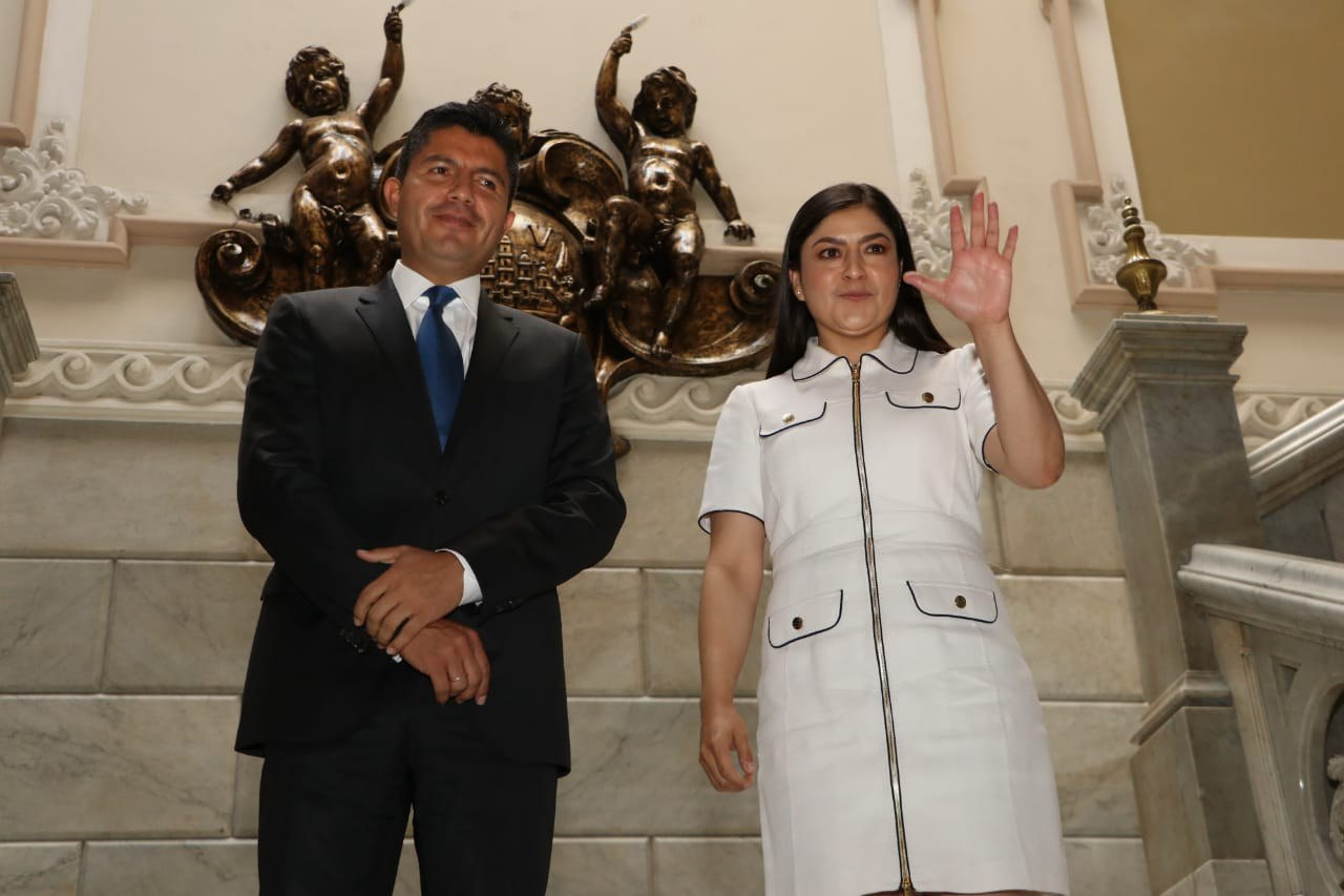 Claudia Rivera y Eduardo Rivera