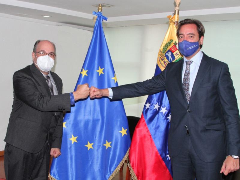 Misión exploratoria de la UE para las elecciones del 21N confirma fecha de arribo a Venezuela