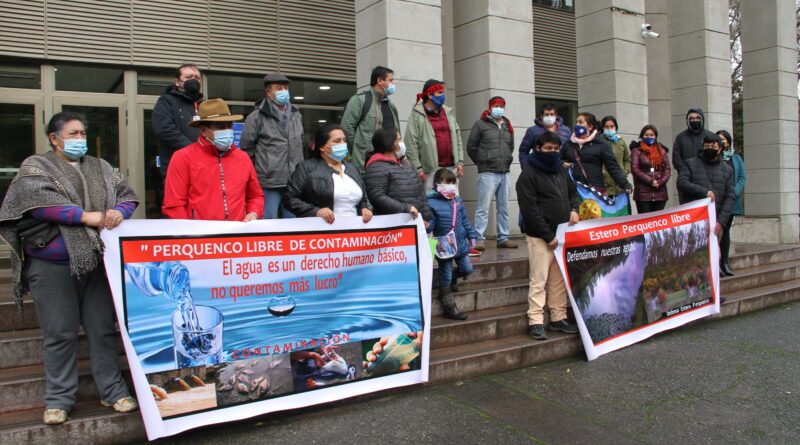 La Araucanía: INDH interpone recurso en favor de pobladores y comunidades mapuche afectados por contaminación de agua
