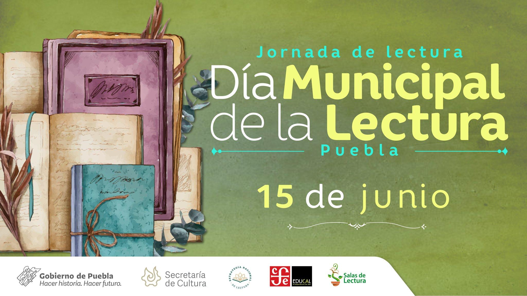 Inician celebraciones para el Día Municipal de la Lectura 2021, Puebla