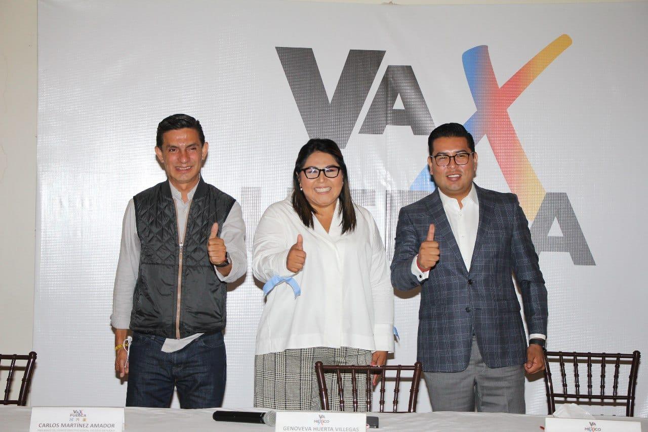 Impulsaría Va por Puebla a Rivera Pérez para reelección en 2024